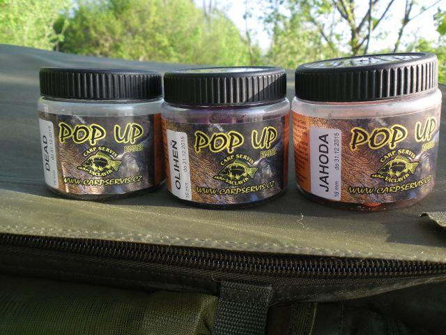 Detail fotografie - Produkt, Pop Up boilies Carp Servis, Pardubický kraj