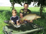 Se synkem na rybách